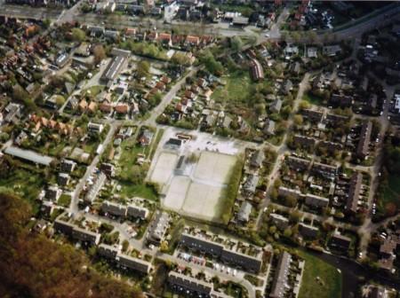 HVB FO 00727  Tennispark De Bedriegertjes e.o. (luchtfoto)