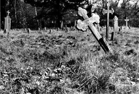 HVB FO 00732  Oude Begraafplaats in de jaren '50