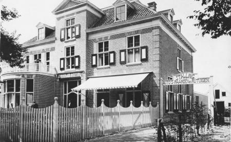 HVB FO 00807  Oranjehotel, Breelaan 7, ca 1910